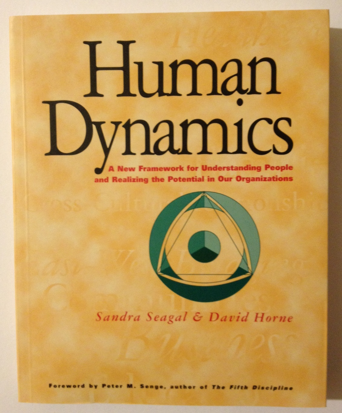 Human Dynamics: A New Framework for Understanding People and Realizing the Potential in our Organizations